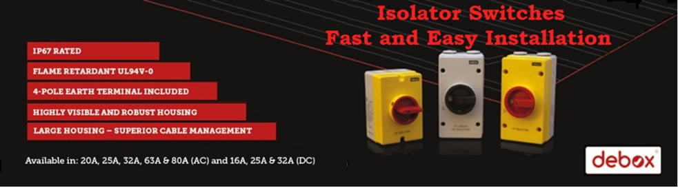 Isolator switches