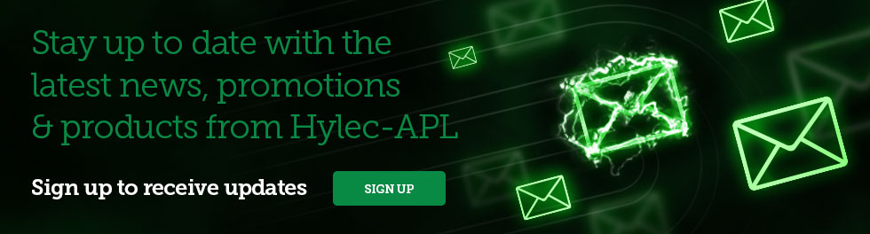 Sign up to receive updates from Hylec-APL