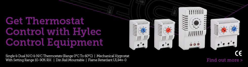 Get thermostat control with Hylec control equipment