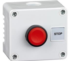 Control Stations - Push Buttons, Flush Head - 1DE.01.04AG