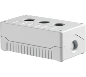 Enclosures - Rectangular Enclosures/Junction Boxes - DE03S-A-GG-3