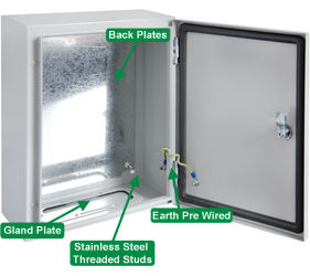 Enclosures - Steel Door Enclosures - DEDS0500