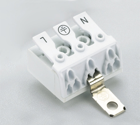 Emech Terminals/Accessories - Screw to Pushwire Pillar Blocks - HY240/3 NY