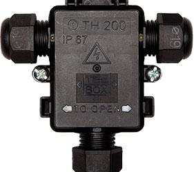 Weatherproof/Waterproof Connectors Range - TeeBox - THK.200.C2E02