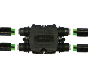 Weatherproof/Waterproof Connectors Range - TeeBox - THH.622.A2A