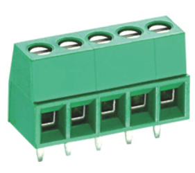 PCB Terminal Blocks, Connectors and Fuse Holders - Standard PCB Terminal Blocks - TL002V-07PGS
