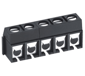 PCB Terminal Blocks, Connectors and Fuse Holders - Through Hole Mount/Wire Protected - TL301R-03PKC
