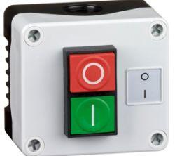 Control Stations - Dual Pushbutton, Single Switch Housing - 1DE.01.10AB