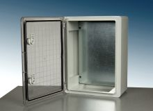 DED Series enclosure with transparent door